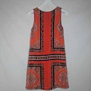 Anthropologie Maeve Baroque Print Shift Dress